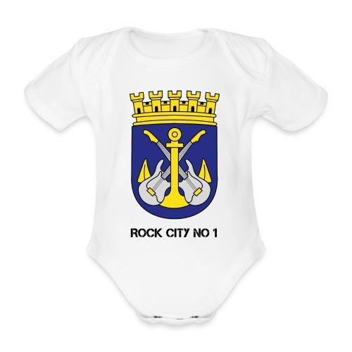 SG Baby WHITE - Baby Bio-Kurzarm-Body