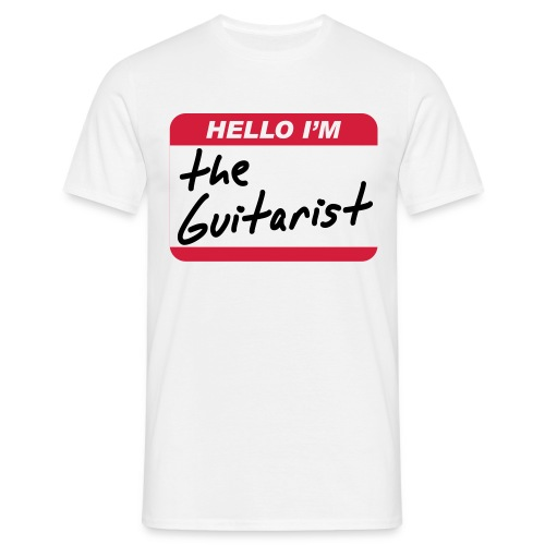 The Guitarist - Men's T-Shirt
