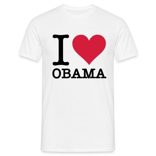 OBAMA - T-skjorte for menn