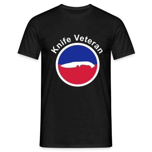 Knife veteran - T-skjorte for menn