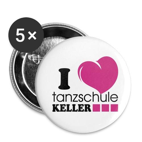 Buttons - Heart small - Buttons klein 25 mm
