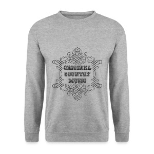 Pull homme original country music - Sweat-shirt Homme