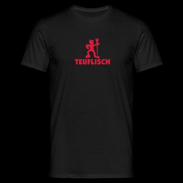 teuflisch_mono_40 T-Shirts