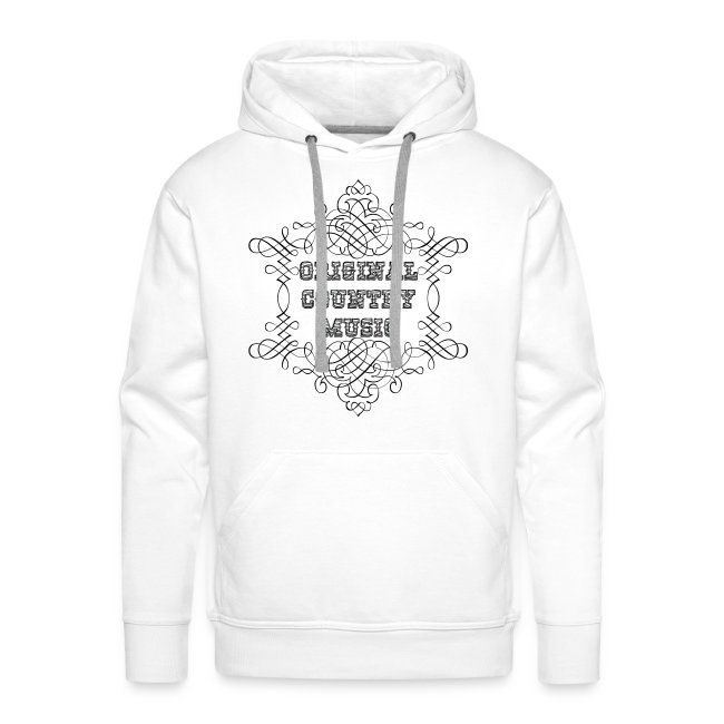 ismylife   Sweat à capuche homme original country music - Sweat ... 369775d29512