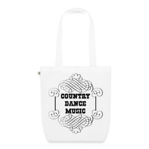 Sac country dance music - Sac en tissu biologique