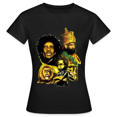 Tee shirt Femme Rasta-Triniti - T-shirt Femme