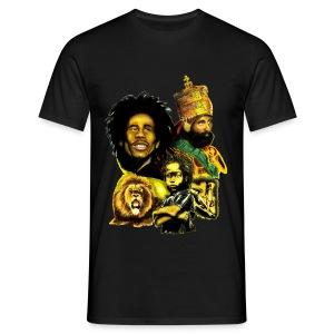 Tee shirt Homme Rasta-Triniti - T-shirt Homme