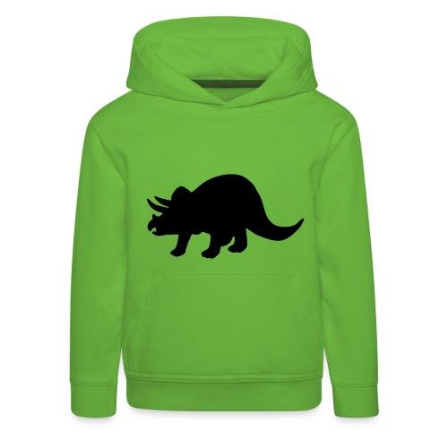 dinosaur shirt kids - Felpa con cappuccio Premium per bambini