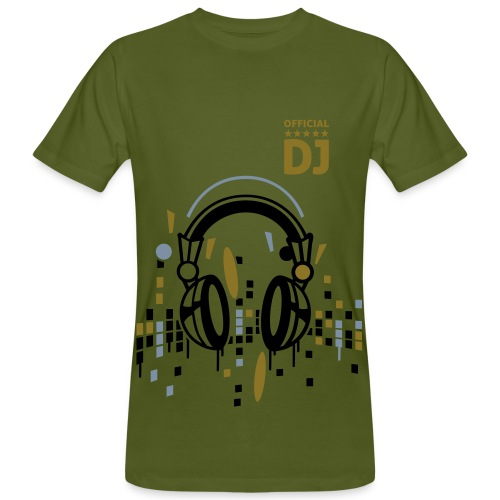 Official DJ Set - Gold Edition 1 - Men's Organic T-Shirt
