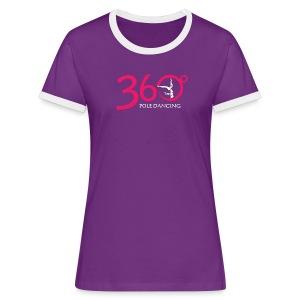Purple Logo T-Shirt - Women's Ringer T-Shirt