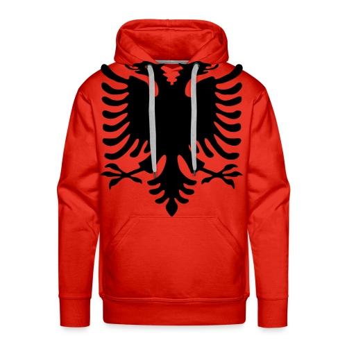 Männer Kaputzenpullover Rot Adler - Männer Premium Hoodie