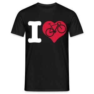 I Love Fixie Shirt - Männer T-Shirt