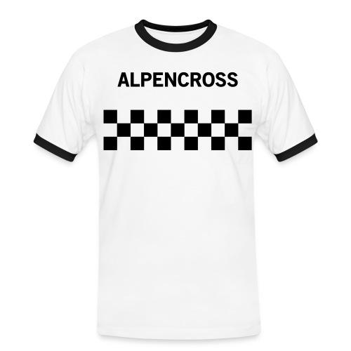 Alpencross - Männer Kontrast-T-Shirt