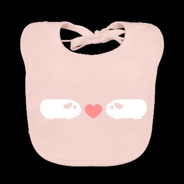 'Piggy Love' Organic Baby Bib