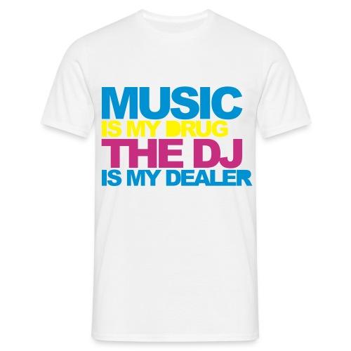 Music T-Shirt Uomo - Maglietta da uomo