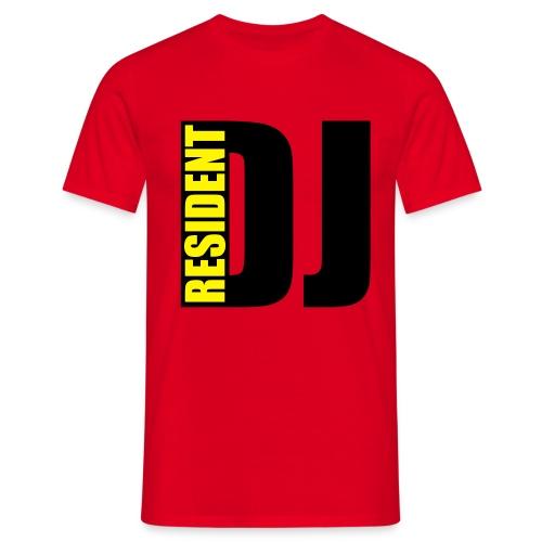 Resident DJ T-Shirt Uomo - Maglietta da uomo