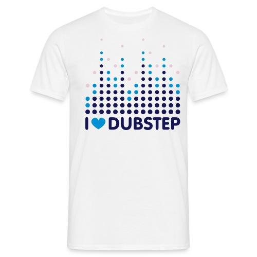 I Love Dubstep T-Shirt Uomo - Maglietta da uomo