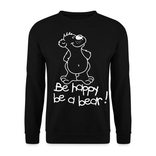The happy bear - Herre sweater