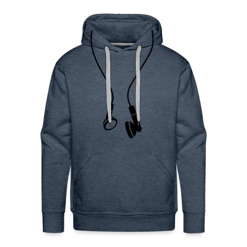 SweatyMuzikrun - Sweat-shirt à capuche Premium pour hommes