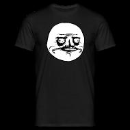 Tee shirts ~ Tee shirt Homme ~ T Shirt Me Gusta noir, rage comics