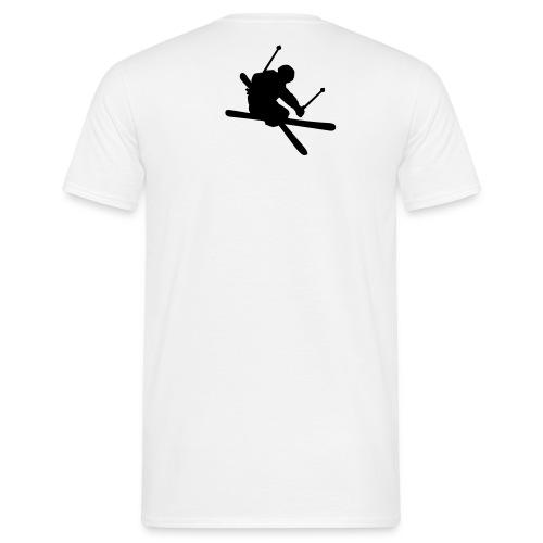 Tee Shirt Skieur - T-shirt Homme