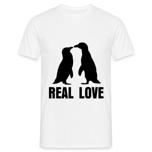 Real love - Shirt - Herre-T-shirt