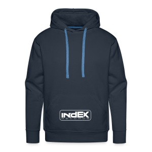 indEX Records label pullover - Männer Premium Hoodie