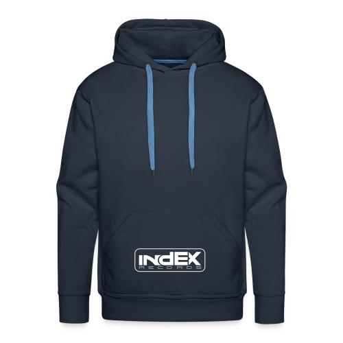 indEX Records label pullover - Männer Premium Hoodie