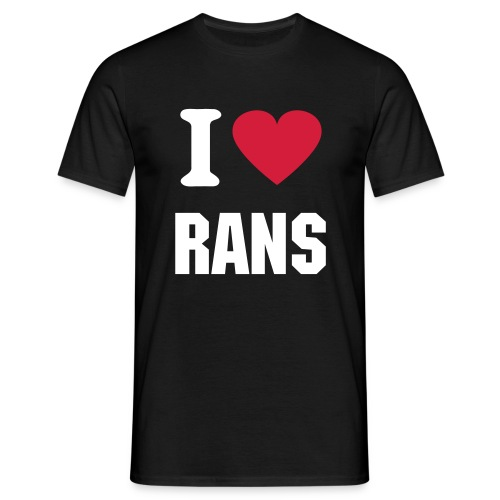 I love Rans Men's - Men's T-Shirt