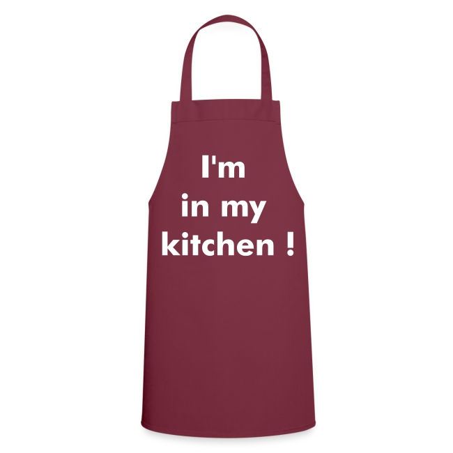 I'm in my kitchen