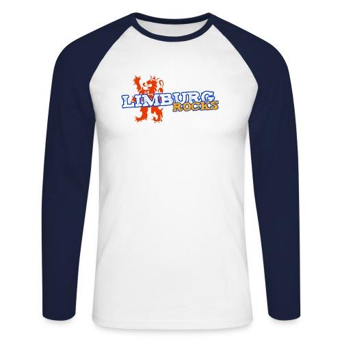 Limburg Rocks - Mannen baseballshirt lange mouw