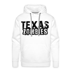 Sweat à capuche homme texas zombies - Sweat-shirt à capuche Premium pour hommes