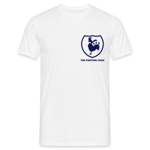 TFC Retro - White Short Sleeve T-Shirt - Men's T-Shirt