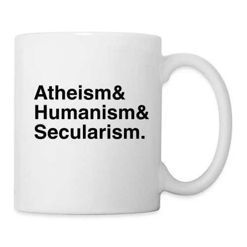 Atheism & Humanism & Secularism - Mug