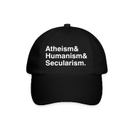 Caps & Hats ~ Baseball Cap ~ Atheism & Humanism & Secularism