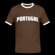 T-Shirts ~ Men's Ringer Shirt ~ Portugal Tee