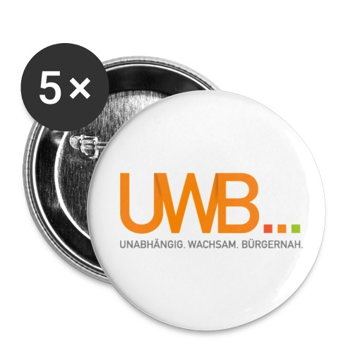 UWB Buttons - Buttons klein 25 mm