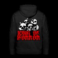 Sweat-shirts ~ Sweat-shirt à capuche Premium pour hommes ~ Sweat à capuche homme king of horror