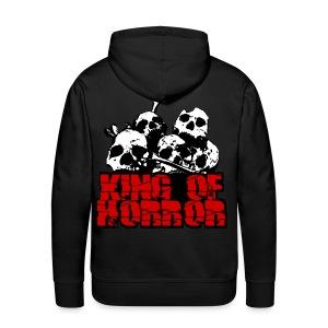 Sweat à capuche homme king of horror - Sweat-shirt à capuche Premium pour hommes