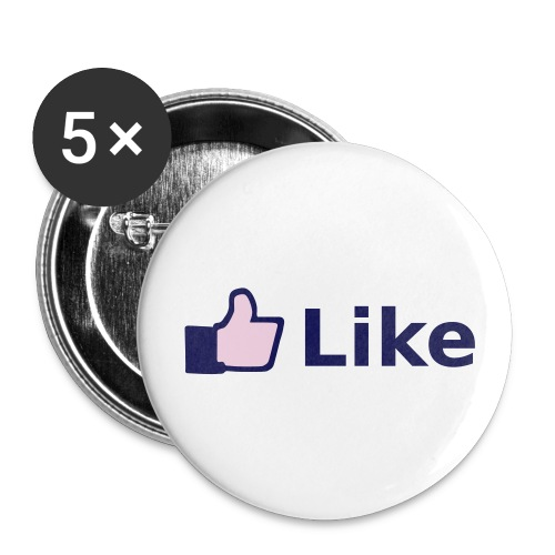 Like-Button - Buttons klein 25 mm