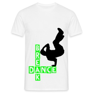Breakdance T (white) - Men's T-Shirt
