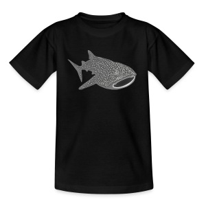 tiershirt walhai wal hai fisch whale shark taucher tauchen diver diving naturschutz endangered species - Teenager T-Shirt