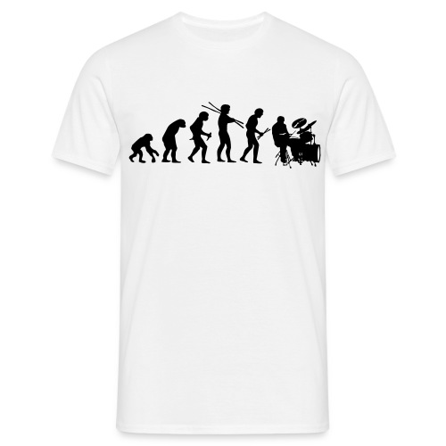 Drum-style-Evolution - Männer T-Shirt