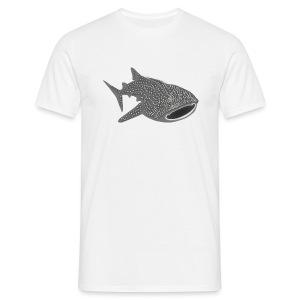 tiershirt walhai wal hai fisch whale shark taucher tauchen diver diving naturschutz endangered species - Männer T-Shirt