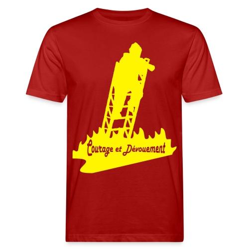 Pompier EPA Courage et Dévouement - T-shirt bio Homme