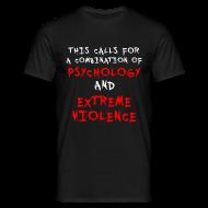 T-Shirts ~ Men's T-Shirt ~ Psychology T-Shirt