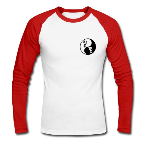 Yin Yang Amour et Paix - T-shirt baseball manches longues Homme