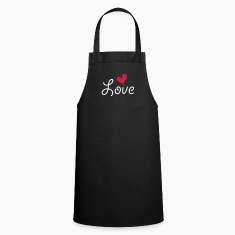 Love with heart  Aprons