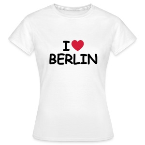 I love Berlin Retro-T-Shirt - Frauen T-Shirt