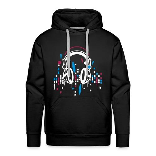 I love music ♥ - Mannen Premium hoodie